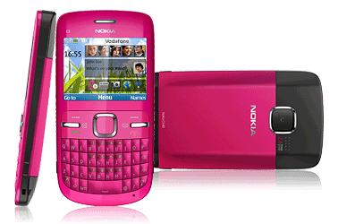 Nokia_C3_Pink_multiview_h1