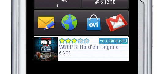 Ovi Show Widget: The Latest Apps, On Your Home Screen: Nokia