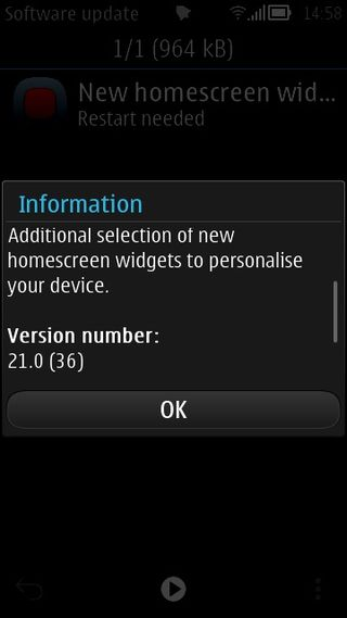 Omio - Symbian New Widgets