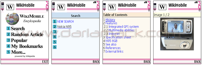 Wikipedia Goes Mobile - Thanks to Bonfire Media: Nokia S60