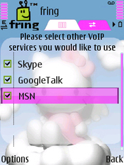 Fring Adds MSN To Its Client App: Nokia S60 News and Reviews