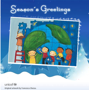 Unicef Christmas Cards.Late On Sending Holiday Cards Nokia S60 News And Reviews